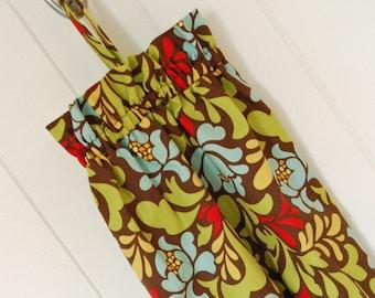 Plastic Grocery Bag Holder - Heather Bailey Pop Garden Sway Brown