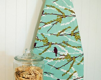 Designer Ironing Board Cover - Joel Dewberry Aviary 2 - Sparrows Plum