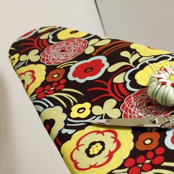 Ironing Board Cover made with Alexander Henry's Mocca Fabric