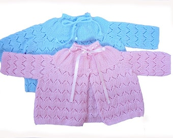 Lacy Baby Jacket