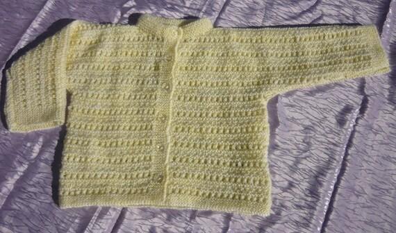 Knitted Lightweight Toddler Jackets