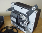 Vintage 1966 Bell and Howell Super 8 Autoload Movie Film Motion Projector Model 432A