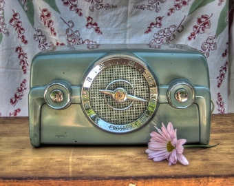 Mad Men radio print, vintage radio, home decor, retro photo, Midcentury modern, midcentury home decor, radio photography, radio photo