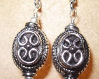 Fancy Sterling Silver Earrings