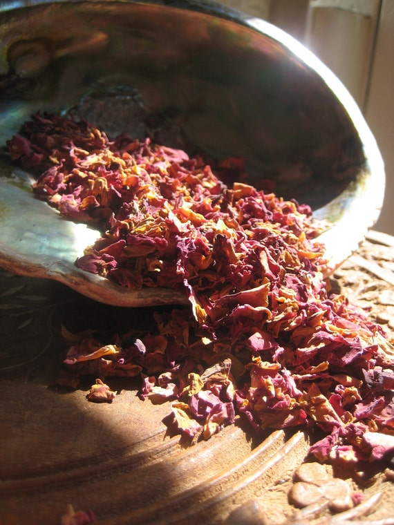 Handmade Rose Petal Botanical Incense