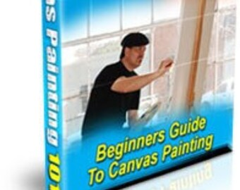 Canvas Painting 101 & Getting Introduced to Oil Painting 2 PDF ebooks for the price of one