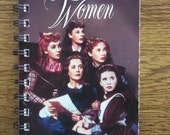 Recycled Notebook From Little Women VHS Box