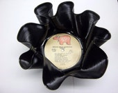 Recycled Record Bowl From Grease Movie Soundtrack