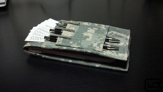 Tactical Investigator I, Field Notebook Cover (ACU Camo)