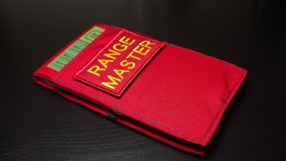 Range Master (Red on Red) with Elastic Pen Holder