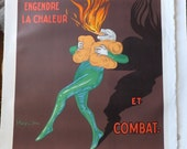Le Thermogene French Advertising Poster