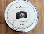 14 Tins of High Quality Black & White Photo Corners