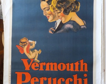 Vintage Vermouth Poster