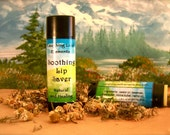 Soothing Lip Saver - A Natural & Healing Lip Butter - Great for Chapped Lips