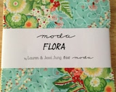 Flora Charm Pack by Lauren and Jessi Jung for Moda