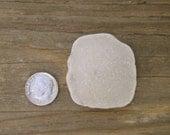 ORB PENDANT -  Genuine White Sea Glass