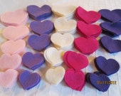 Pinks and Purples Felt Heart Shapes---DIY Kits for Valentine's Day-Felt Hearts Multi Sizes-Valentine Garland Decorations