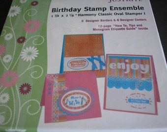 Just Rite Birthday Stamp Ensemble Kit