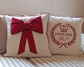 Set of 2 Christmas pillow