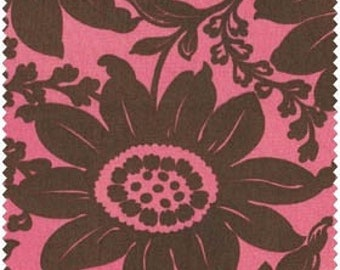 Maywood Studios, Luna II, Flowers (Pink and Brown) 1 yard