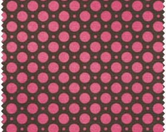 Maywood Studios, Luna II, Dots (pink and brown) 1 yard