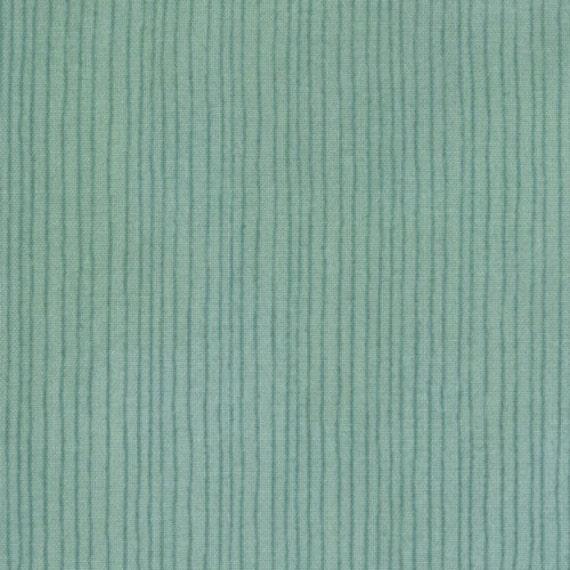 Moda's Wee Woodland Stripe (Turquoise) 1 yard