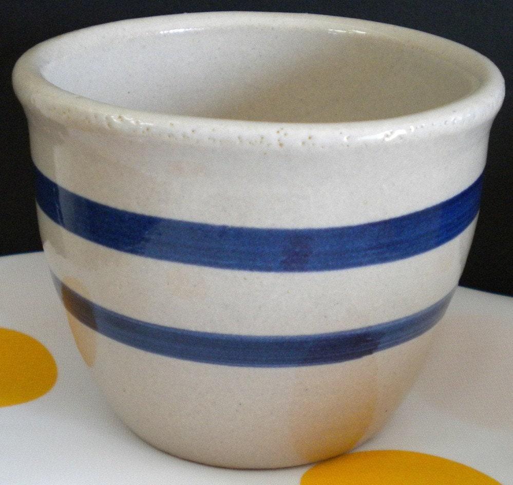 Robinson Ransbottom Roseville Ohio Pottery Tub Dish