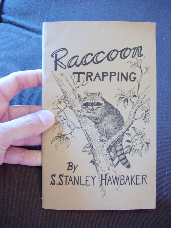 1951 Raccoon Trapping small paperback book