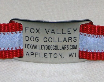 Stainless Steel ID Tag - Jingle Free Pet Tag