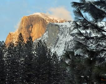Fine Art Print, Half Dome Yosemite National Park, California