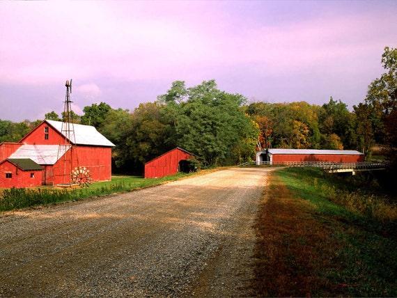 Fine Art Photo of Cades Mill Bridge Fountain County, Indiana (IDAU1760)