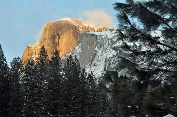 Fine Art Print, Half Dome Yosemite National Park, California