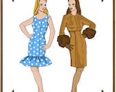 Ellowyne Wilde Doll Clothes Pattern - Dress, Bolero Jacket - No. 114