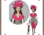 Gene Marshall Doll Clothes Pattern - Day Dress, Hat, Gloves - No. 154