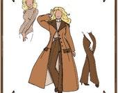 Modern Cissy Doll Clothes Pattern - Duster Coat, Dress Pants - No. 66