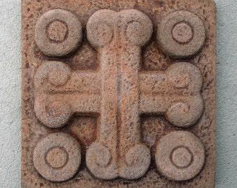 Decorative Tile - crossed bones