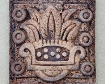 Decorative Tile - Aztec Reed