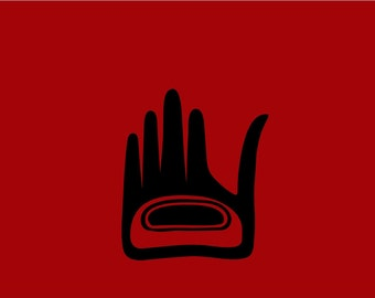 Healing Hand Native Sign 12x14 Vinyl Wall Lettering Art Decal Sticker Living Room Graphic
