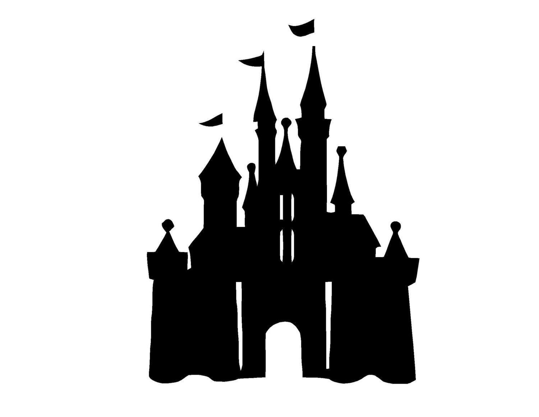 Disney Castle Vinyl Wall Decal Sticker by ALastingExpression