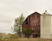 Miller High Life Barn - 8x10 Photo Print
