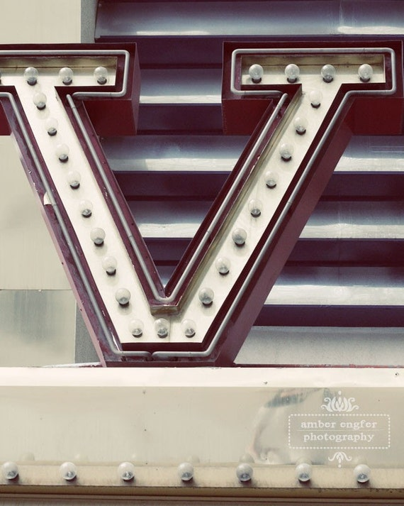 V is for... - 8x10 photo print