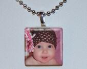 On Sale - Photo Tile Necklace