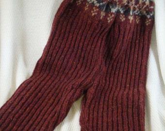 Recycled Soft Wool Longie Cloth Diaper Soaker Pants - Small 2-9 mos - Erik 1849
