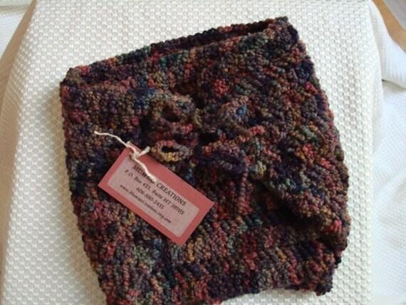 All Wool Hand-Painted Custom Wrap Soakers Diaper Cover - Boys Medium - Rodeo 285