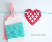 Red Heart Doily Garland Kit