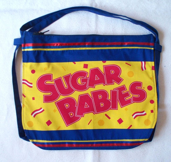 SALE Sugar Babies & Sugar Daddy Interchangeable Backpack or Carry Bag