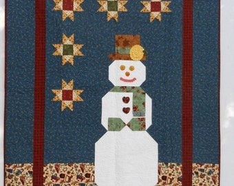 Snowman (Flannel Quilt)