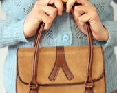 The Little Coffee-Coloured Handbag - 70s