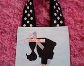 Retro Vintage Barbie Inspired Silhouette Purse Bag - Party Favors