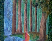 Rainforest - original acrylic